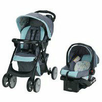 Graco Comfy Cruiser Travel System With Snugride Infant Car Seat