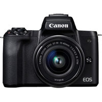 Canon EOS M50 Mirrorless Camera w/EF-M 15-45 mm