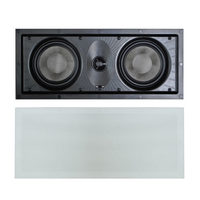 "Soundstage Dual 5.25"" In-Wall LCR Speaker"