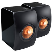 KEF Special Edition Black LS50 Uni-Q Hi-Fi Monitor Speakers