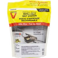 Victor 8 Pk Refillable Mouse Bait Station