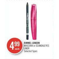 Rimmel London Mascara Or Scandaleyes Liner