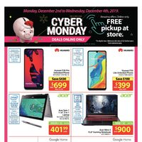 - Cyber Monday Deals - Online Only Flyer