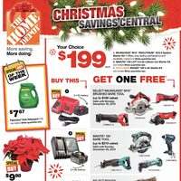 Home Depot - Weekly - Christmas Savings Central Flyer