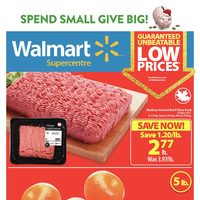 Walmart - Supercentre - Spend Small, Give Big! Flyer