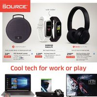 The Source - 2 Weeks of Savings - Cool Tech For Work or Play Flyer