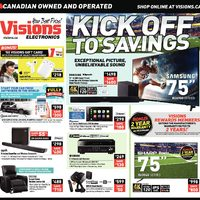 - Weekly - Kick Off To Savings Flyer