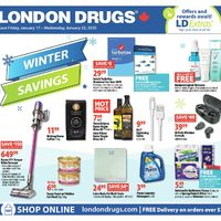London Drugs - 6 Days of Winter Savings Flyer