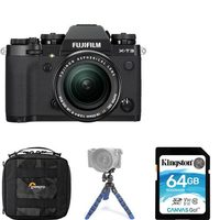 Fujifilm X-T3 Mirrorless Digital Camera - X-T3 18-55mm Lens Kit Package