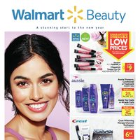 Walmart - Beauty Book - A Stunning Start To The New Year Flyer