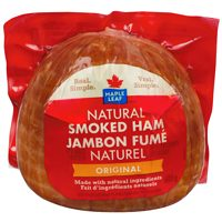 Maple Leaf Natural Hams or Schneiders Hams