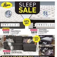 Leon's - Sleep Sale Flyer