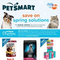PetSmart - Save On Spring Solutions Flyer