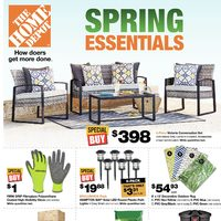 Home Depot - Weekly - Spring Essentials Flyer
