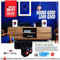 Centre HIFI - Sound Good Look Good Flyer