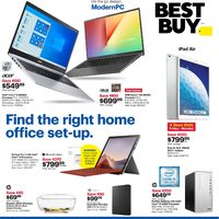 - Weekly - Find The Right Home Office Set-Up Flyer
