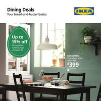 IKEA - Dining Deals Flyer