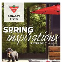 - Spring Inspirations Flyer