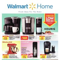 Walmart - Home Book - Fresh Ideas For The Home Flyer