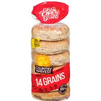 Country Harvest Bagels, Wonder English Muffins, Wonder Wraps