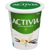 Activia Yogurt with Probiotics