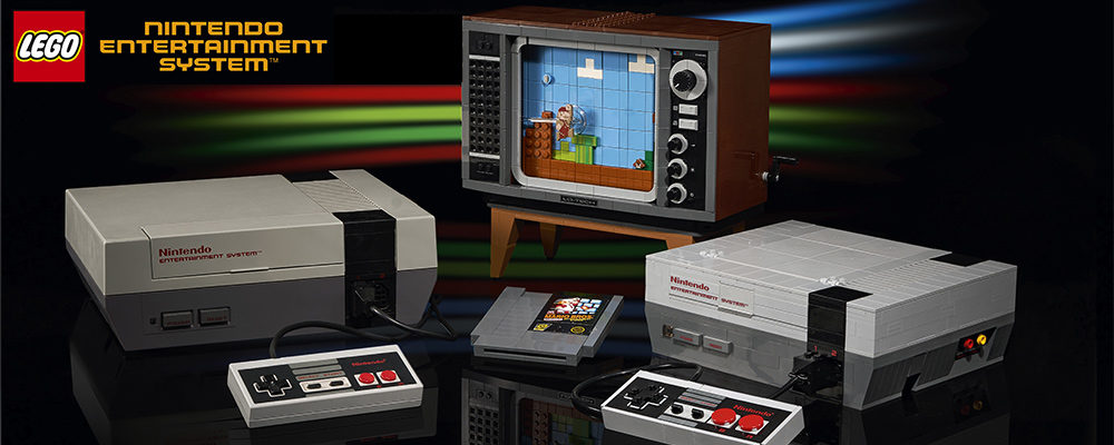 An Incredible New Retro LEGO Nintendo Entertainment System (NES) Set Launches August 1st