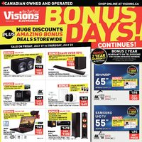 - Weekly - Bonus Days! Flyer