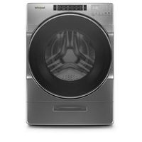Whirlpool 5.8 Cu. Ft. I.E.C. Front Load Washer And 7.4 Cu. Ft. Electric Dryer