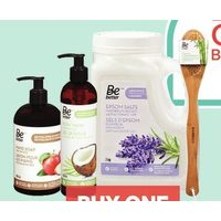 Be Better Body Wash, Liquid Hand Soap, Body Butter, Bath Foam, Espom Salts or Bath Accessories