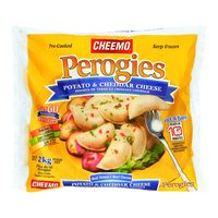 Cheemo Perogies Or Green Giant Riced Veggies, Veggie Tots Or Mashed Cauliflower