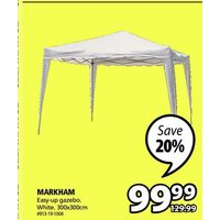 Markham Easy-Up Gazebo