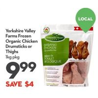 Yorkshire Valley Farms Organic Chicken Drumsticks Or Thighs