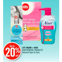 Life Brand Or Nair Hair Removal Products
