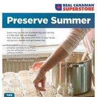Real Canadian Superstore - Preserve Summer Flyer