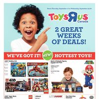 Toys R Us - 2 Weeks of Great Deals! Flyer