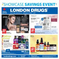 London Drugs - Showcase Savings Event Flyer