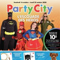Party City - L'escouade des héros Flyer