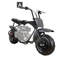 DIY Gas Mini Bike Kits - Youth