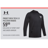 Under Armour Project Rock Tech 2.0 Pullover Hoodie
