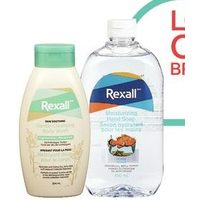 Rexall Brand Body Wash, Liquid Hand Soap, Bath Foam or Liquid Hand Soap Refills