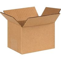 "Staples 6""x4""x4"" Corruugated Shipping Box"