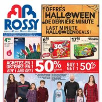 Rossy - Weekly - Last Minute Halloween Deals! Flyer