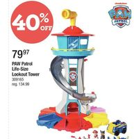 Paw Patrol Life-Size Lookout Tower