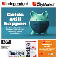 Your Independent Grocer - Colds Still Happen Flyer