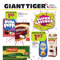 Giant Tiger - Weekly - Super Savings Flyer