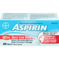 Aleve Pain Relief or Aspirin