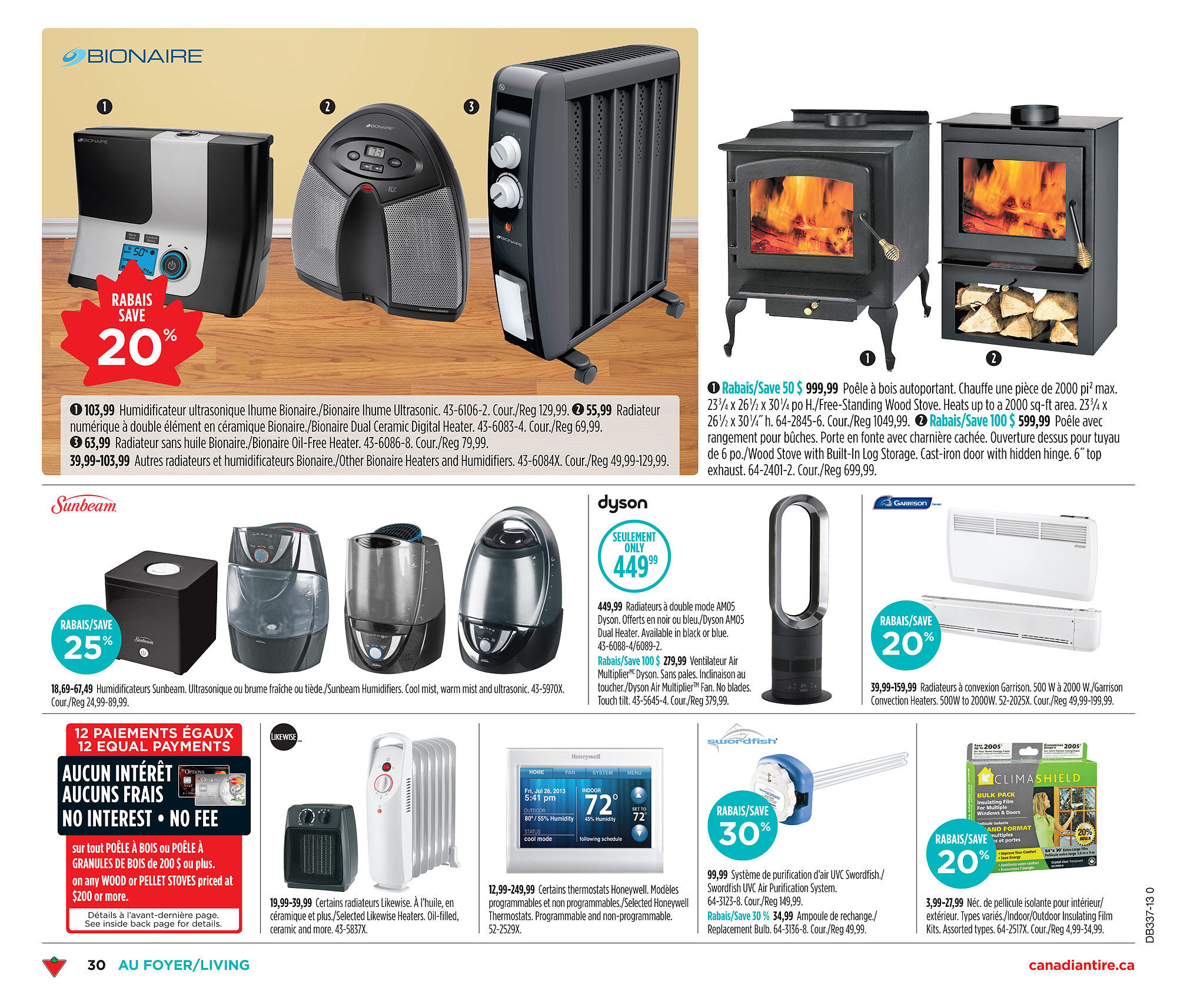 Canadian Tire Weekly Flyer Sep 5 12 Fan Forced Electric Garage Heaters Likewise Portable Heater