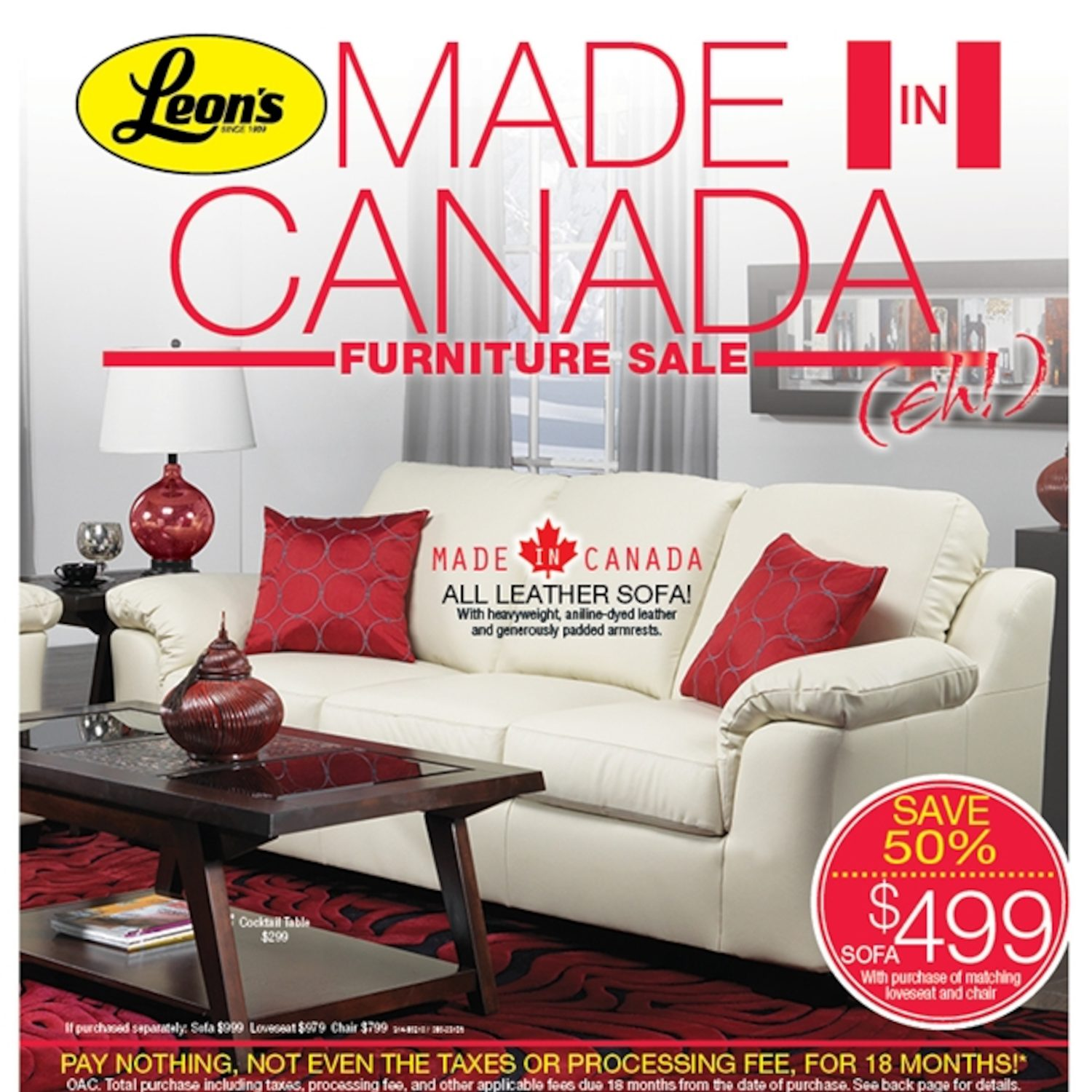 Admirable Leons Weekly Flyer Made In Canada Furniture Sale Feb 3 Gmtry Best Dining Table And Chair Ideas Images Gmtryco