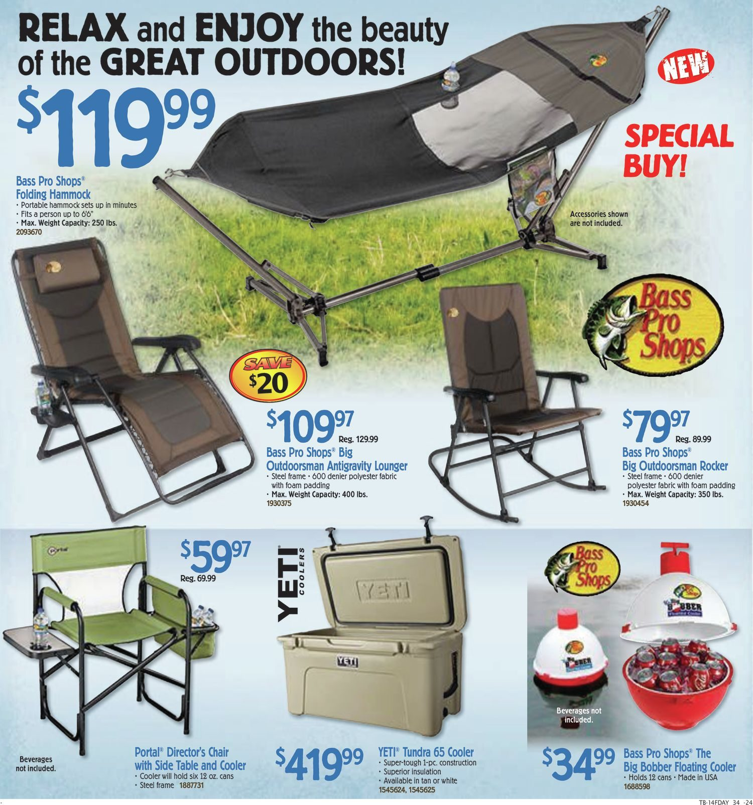 Bass Pro Shops Weekly Flyer Flyer Fathers Day Sale May 27