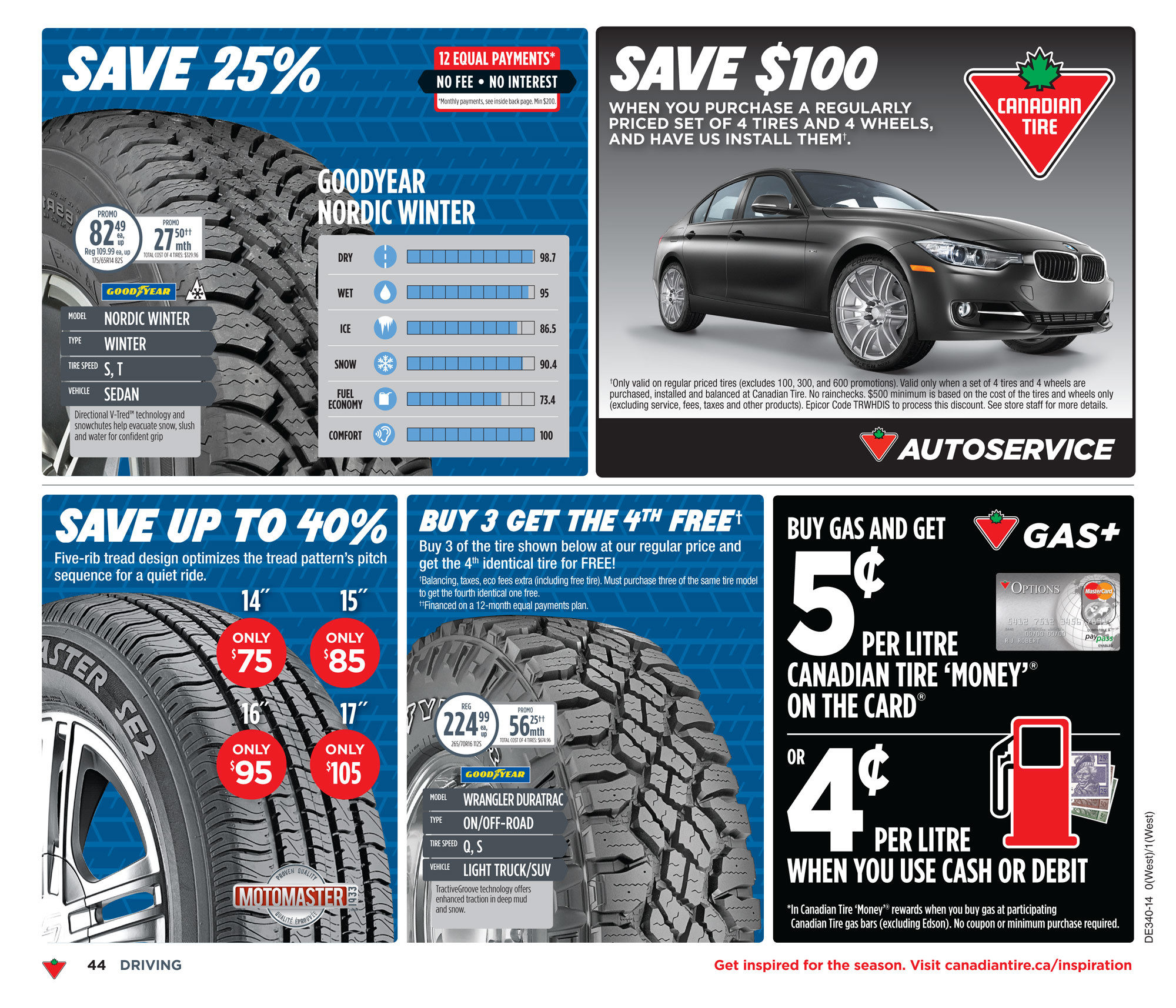Canadian Tire Weekly Flyer - Weekly Flyer - Sep 26 – Oct 2 ...